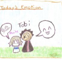 Today's emotion is... by Tobi-kun