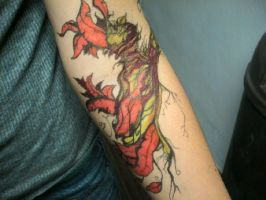 Kristin's Forearm by inphested
