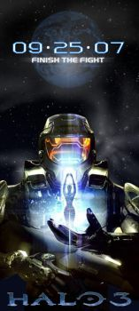 HALO 3 banner by HaloGoddess1