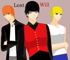 Lost Will- Ciro, Will, Lucas by sonicnshadow321