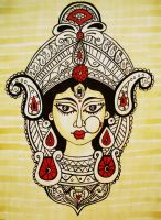 Devi Durga by varshapeterpanda