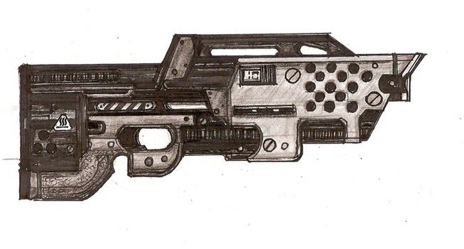 IX4 Thermal Projector Rifle by Great-5