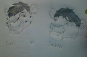 Cael and Tadeo by ZapWBolt