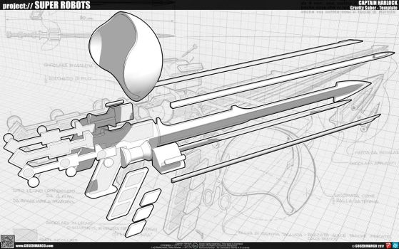 Gravity Saber - Template by cosedimarco
