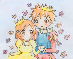 + IchiHime + My Prince + by Gnomiee