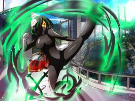 CR Big War II Stage 3 : ....green kick (?) by Avaloki