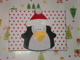 Christmas Penguin by PSherman42WallabyWay