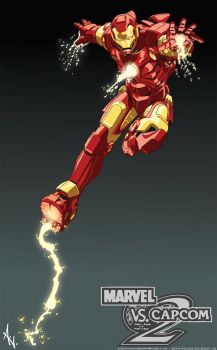 Marvel Tribute - Iron Man by albertoventura