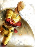 One Punch Man - Saitama by Evil-usagi