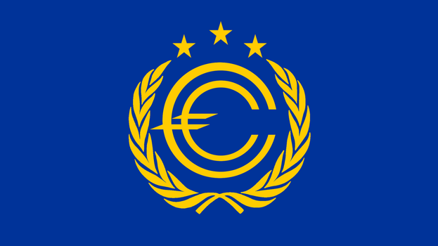 Flag of Greater Europe by augustin-blot-LBPS