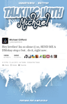 Talking with Michael // Book Cover // wattpad by FranceEditions