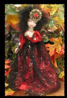 A Vampire's Dream OOAK Fairy by gossamerfae
