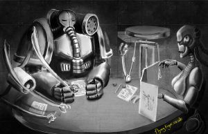 Robot Gamers by megapowerskills