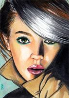 Rogue Sketch Card 9 by veripwolf