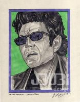 Dr. Ian Malcolm by J-Dubi
