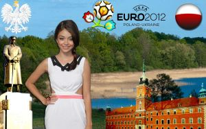 Poland Card with Sarah Hyland by ShaneGray91