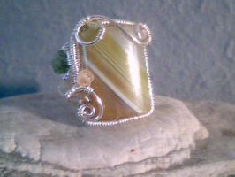 Sands of Time - Adjustable Ring by Carmabal