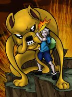 ADVENTURE TIME by eecomics