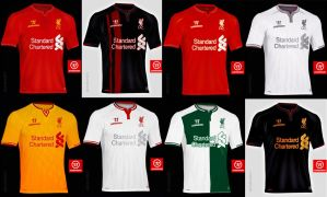Kitster29LFC 2014/15 Shirt concepts by kitster29