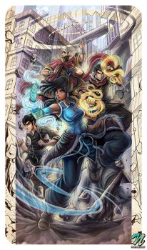 Legend Of Korra by EdgarSandoval