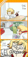 Chizuchi: antisocial by aliza123123