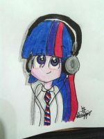 Twi with Headphones. by MordecaiFanD