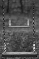 Lonely swing by Onatcer
