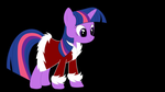 Twilight Sparkle -Holiday- by Amana07