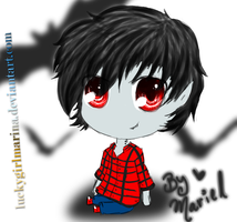 Marshall lee Plushie by luckygirlmarina