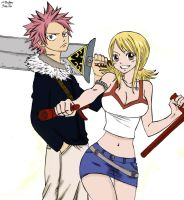 Rave Master x Fairy Tail by cherryblossom0328