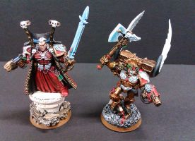 40K Blood Angels Lords Of Baal by Budsky