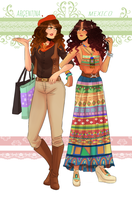 Gaucha and Boho by NerdyJones