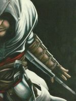 altair in oils by Veelocity