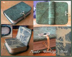 Jer's Birthday Book by myceliae
