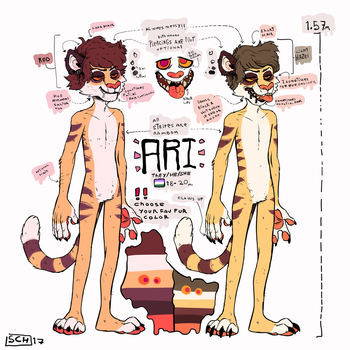 Ari Reference 2017 color variation by SuperCrazyHyena
