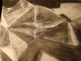Charcoal Value Practice by KardiaArgeei