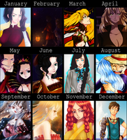 Art Summary 2012 by Mowwiie