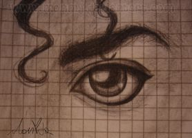lovely MJ eye by MonMJ