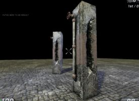 old damaged pillar: udk by DProject-DMan