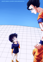 GohanxVidel - Tears of Relief Collab by carapau