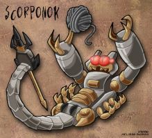 Chibi Scorponok - 2007 Movie by WaywardInsecticon