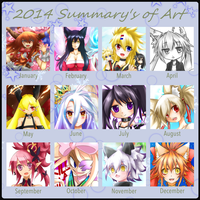 2014 Summary of Art by KaitoAsakura