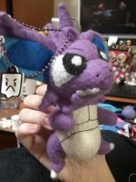 Nidoking Plush by Vulpes-Canis
