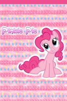 Pinkie Pie iPhone 4 Wallpaper by AceofPonies