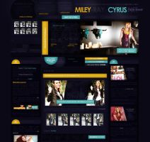 Miley Ray Cyrus Poland by heart4design