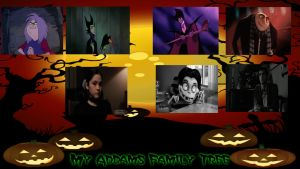 My Addams Family Tree Meme by Normanjokerwise
