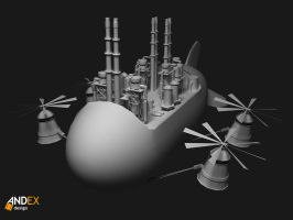 3D brands factory  model by AndexDesign