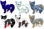 Breedable Cats (OPEN!) by SmeeteryAdopts