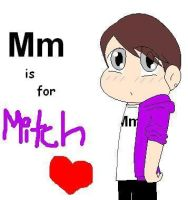 M is for Mitch by gleefulchibi