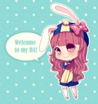 Commission chibi sample - WELCOME! by Murlovely